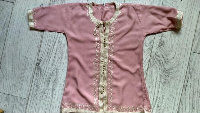 Платье, туника из натуральной ткани для крещения малыша