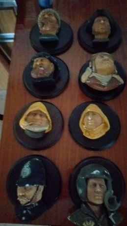 Bustos de marinheiros
