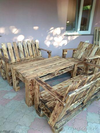Мебель из поддонов для дома и дачи