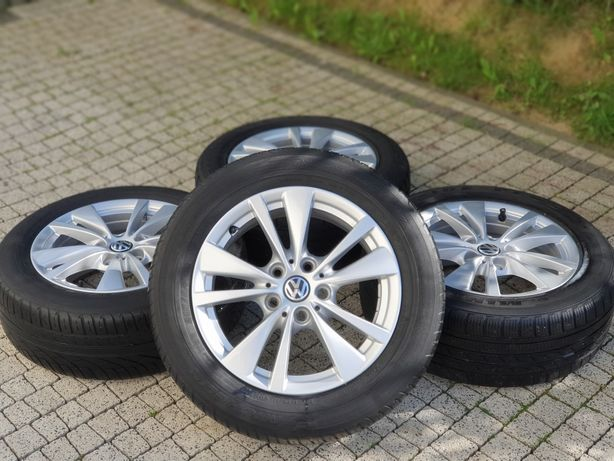 5x112 16 VW AUDI KOLA 215/55/16 A3 8P 8V a4 a5 a6 a7 a8 b6 b7 alufelgi