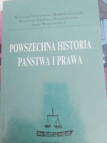 Powszechna Historia Państwa i Prawa Krasowski Lesiński