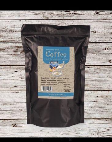 Кофе растворимый ароматизированный со вкусом Сгущенное Молоко 500 грам