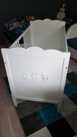 Łóżeczko dziecięce 120×60 z materacem