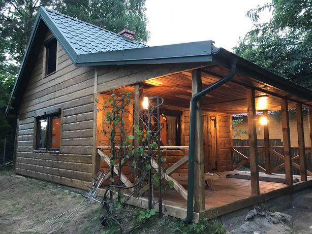 Domek nad jeziorem jacuzzi, zapraszamy od 29 sierpnia