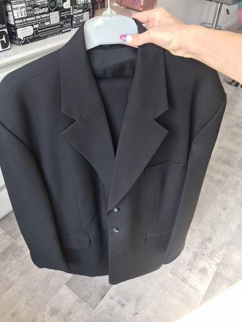 Czarny garnitur 176/120/106 3 elementy stan bardzo dobry