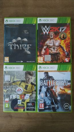 Gry XBOX 360: W2K17, Xbox One:DeuxEx,For Honor,Fallout4, Cod black ops