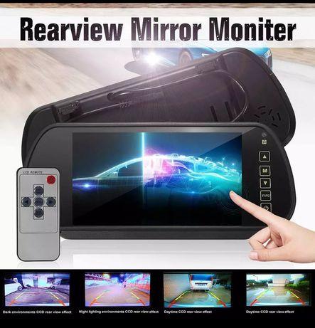 "Monitor TFT LCD de 7"" para espelho retrovisor"