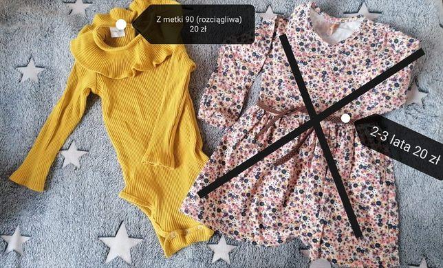 Sukienka dla dziewczynki, bluzeczka