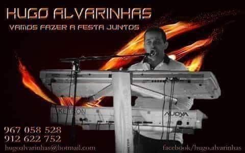 Organista/teclista vocalista Hugo Alvarinhas