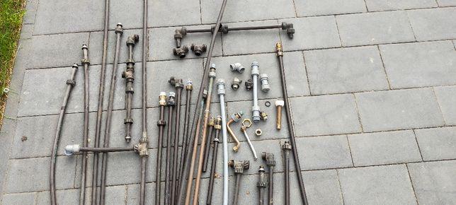 Instalacja sanitarna z przyczepy holenderskiej.