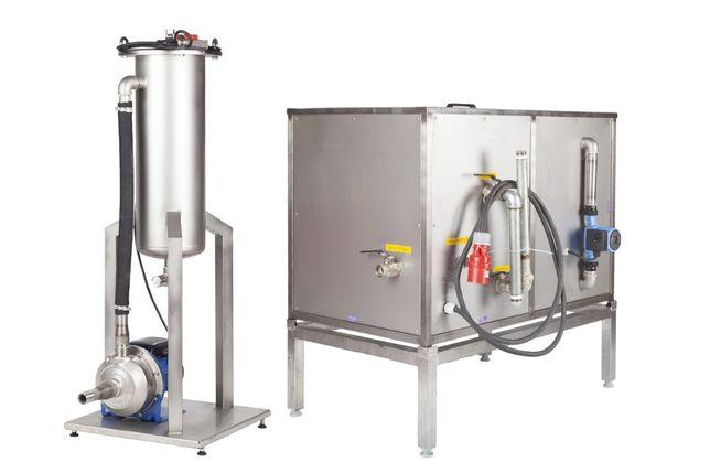 Myjka ultradźwiękowa MKD-70 z separatorem i filtracją woskową