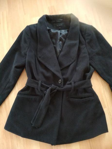 Płaszcz na wiosnę jesień czarny
