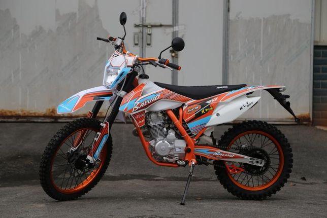 Новый хит! Новая версия взрывного мотоцикла эндуро - Balino - 200/250!