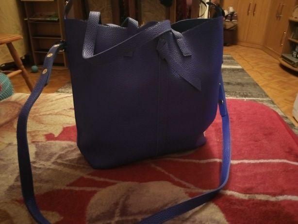 Niebieska torebka Avon