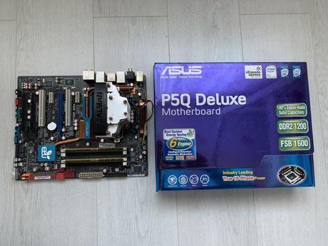 P5Q Deluxe / Xeon E5440 / Kingston 4Gb DDR2 / Zalman кулер