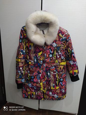 Курточка пуховик пальто