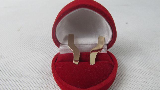 Złote kolczyki 3,7g p585 Lombard66