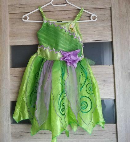 Sukienka dla dziewczynki Disney George- wróżka, elf - kostium + gratis