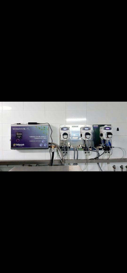 Doseadores desinfecção Covid-19 lares hospitais e lavandarias industri