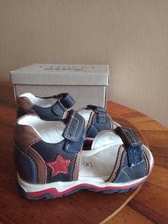 Buty sandały Lasocki kids skórzane r. 21
