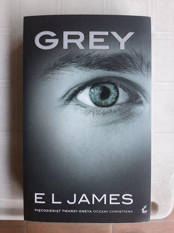 """Książka """"Grey. Pięćdziesiąt twarzy Greya oczami Christiana"""""""