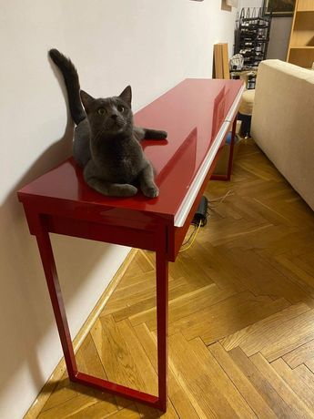 Biurko długie na 180cm i z dwoma szufladami