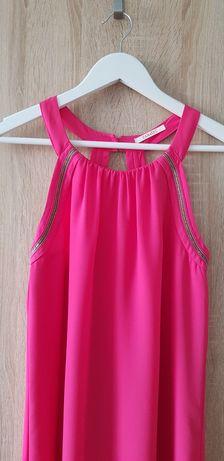 Sukienka trapezowa lekka