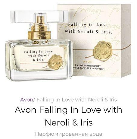 Парфюмированная вода  fatting in love with neroli & iris