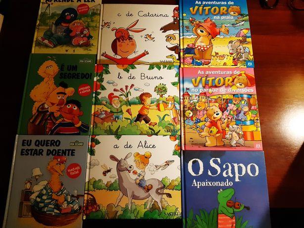 Livros Infantis.
