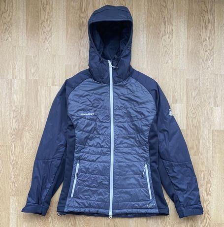 Утеплённая куртка mammut худи