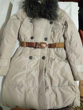 Пальто зимнее пуховик 44 размер