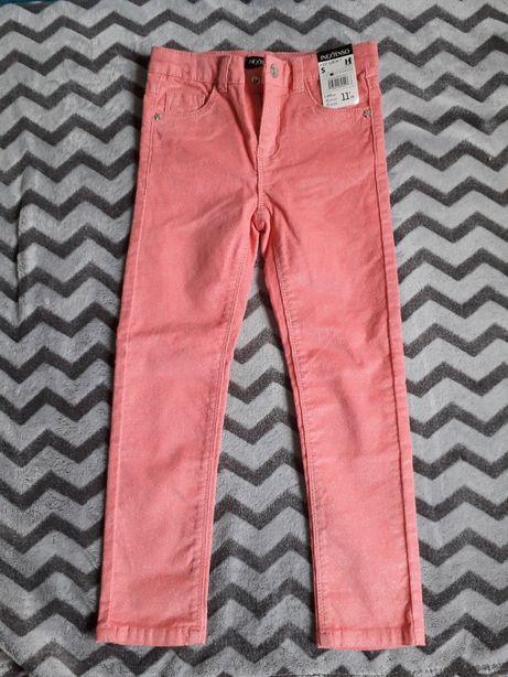 Spodnie różowe INEXTENSO 107-113 cm