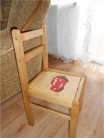 Стул деревянный детский
