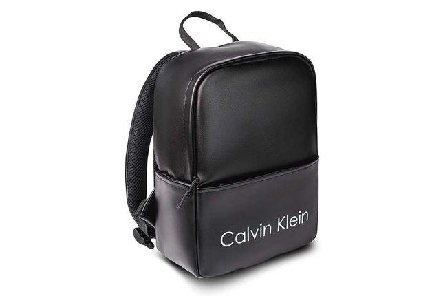 Женский рюкзак Calvin Klein в спортивном стиле, модный черный портфель