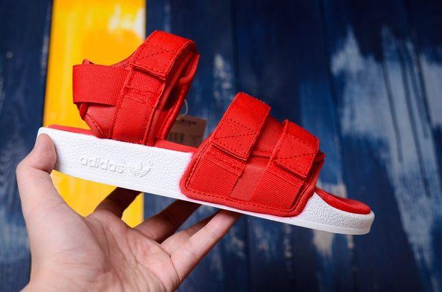 Сандалии Босоножки Adidas Adilette красные