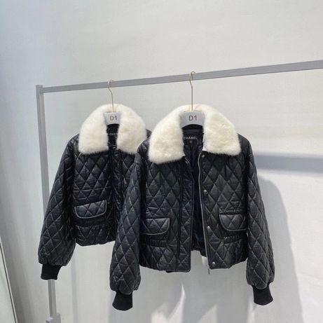 Кожаные косухи, курточки Chanel,Dior, YSL