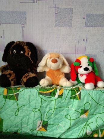 Мягкие игрушки собаки, собачки новые