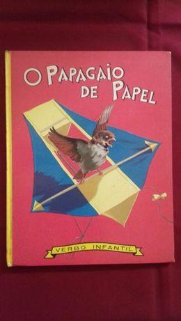Livro VERBO Infantil - O Papagaio de Papel