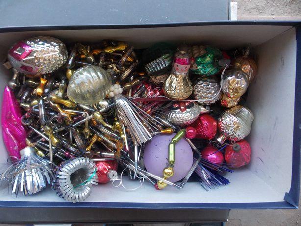 елочные новогодние игрушки ссср