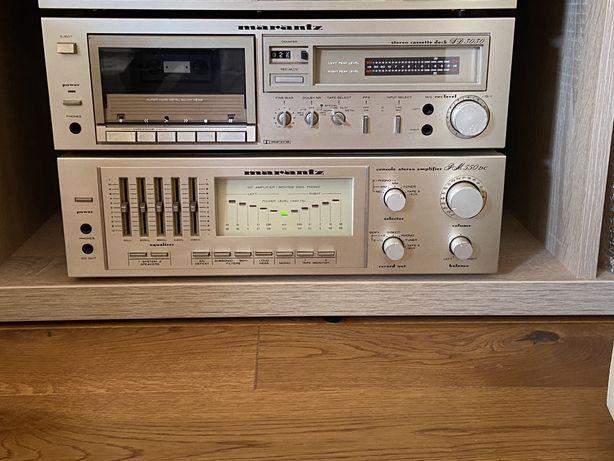 Zestaw Magnetofon,Wzmacniacz,Radio