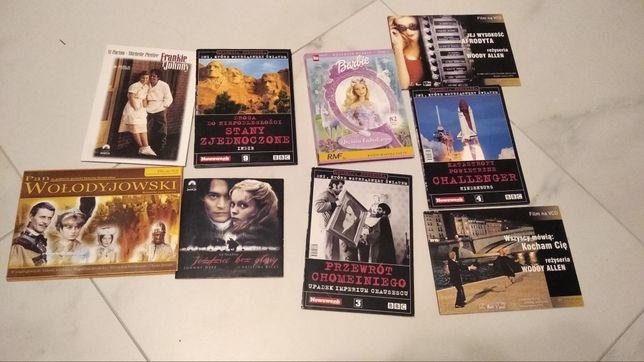 Zestaw filmów DVD i VCD