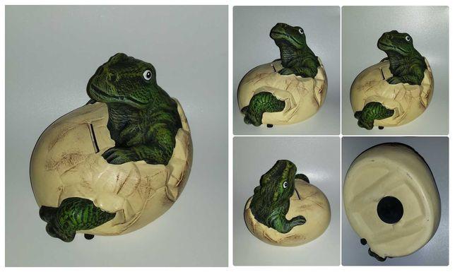 Фигурки вместительная  большая копилка крокодил дракон динозавр
