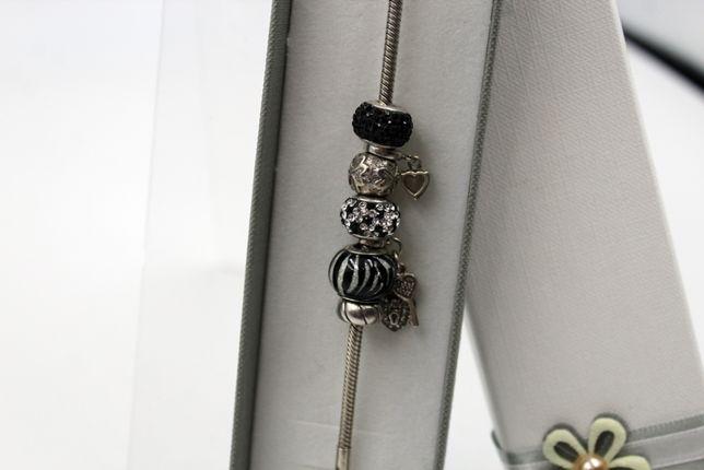 Bransoletka APART 925 srebro charmsy
