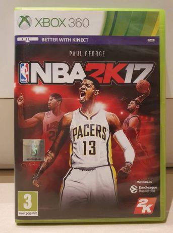 Gra NBA 2K17 2017 na konsolę Xbox360, możliwa wysyłka