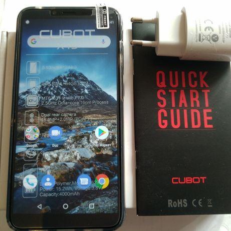 CUBOT X19 4G (5.93 FHD+ (18.9) 2.5D.) 4GB/64GB - ( T/B ) +ЧОХОЛ +СКЛО