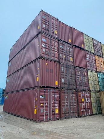 Kontener morski 40 HC, magazynowy - tani transport!