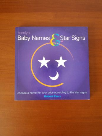 Baby name and star signs - Robert Parry
