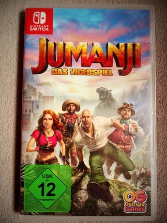 Jumanji: The Video Game Nintendo Switch NS zamienię/sprzedam