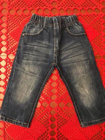 Spodnie dżinsowe 86