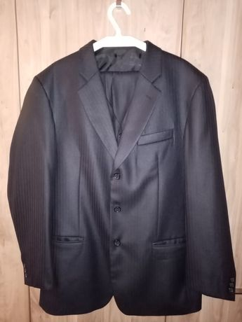 3 częściowy garnitur męski na wzrost 180